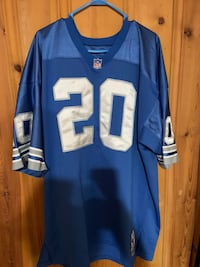 Barry Sanders Mitchell and Ness Jersey Columbia, 21046