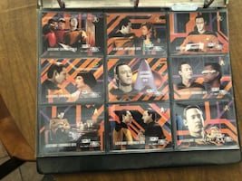 Vintage Star Trek trading card collection several complete