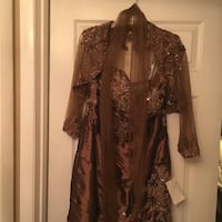 New 100% silk, size 14. You have to see it , have lost of details . East Lake, 33619