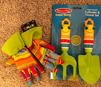 Child's garden tools and gloves Mustang, 73064