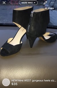 NEW!!Gorgeous heels size 7/7.5 payed over 125$ London, N5W 1E8