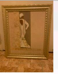 Wall painting gold frame excellent condition Baltimore, 21215