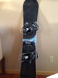 Spice snowboard and boots