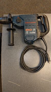 black and gray Bosch corded power tool CITRUSHEIGHTS