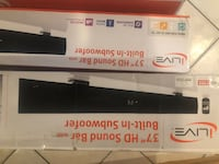 """ILIVE 37"""" HD SOUND BAR WITH BUIULT IN SUBWOOFER  Mississauga"""