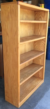 3' x 5' Oak Bookcase / Bookshelf by Thornwood Lakeville, 55044