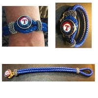 Genuine Leather Rangers Bracelet Farmers Branch, 75244