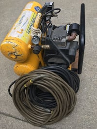 Campbell Housefield to tank air compressor 4 gallon total