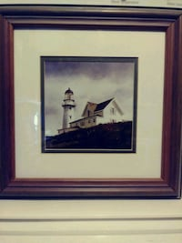 Black an white wood framed lighthouse picture 13  Myrtle Beach, 29577