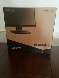 New Acer Monitor