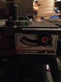 10 in. Craftsman table saw