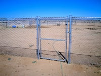 gray metal chain link fence TUCSON