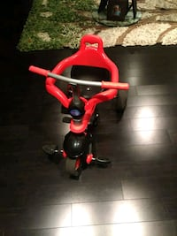 toddler's red and black trike Toronto, M1X 1Y3