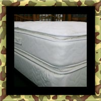 Twin mattress double pillowtop with box spring 32 mi