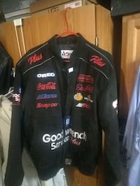 Dale ernheart leather jacket