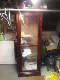 Glass cabinet,with lights  Queens, 11356