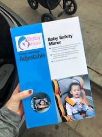 Baby and Mom adjustable baby safety mirror box