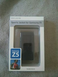 black and gray Sports Jacket For Samsung Z5
