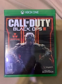 Call of Duty Black Ops 3. Xbox One 4K UHD TV Gaming Springfield, 22153