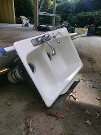 CAST IRON SINK W/DISPOSAL Forest City, 28043