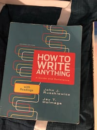 How To Write Anything 2nd Edition  Waterloo, N2L 2X1