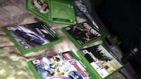Four xbox one game cases Barrie, L4N 9S1
