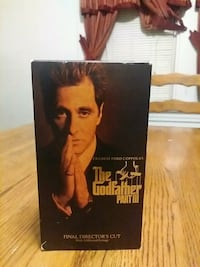 The Godfather PART III VHS