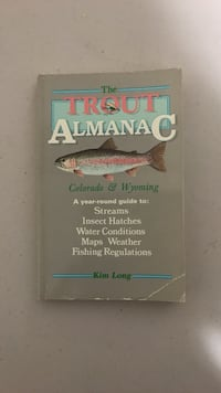 The Trout Almanac by Kium Long book