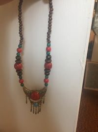 Beaded colorful hand made necklace Southfield