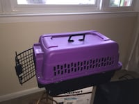 purple and black pet carrier Woodbridge, 22193