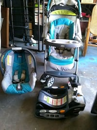 Boys stroller and carseat Channelview, 77530