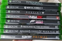 Xbox One game keep case lot Winchester, 22603