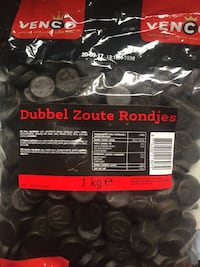DELICIOUS SALTY BLACK LIQUORICE ONE KILO BAGS Surrey, V3R 3W9