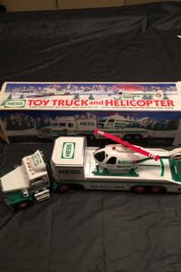Hess 1995 Truck with Helicopter