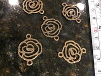 5 flowers pcs lot DIY charms for jewelry making art crafts shower Lutherville Timonium, 21093