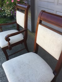 set of 6 dinning chairs  Coquitlam, V3E 1T9