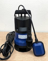 New $40 Submersible 1/2 HP 2112GPH 400W Water Pump Swimming Pool Dirty Flood Clean Pond South El Monte