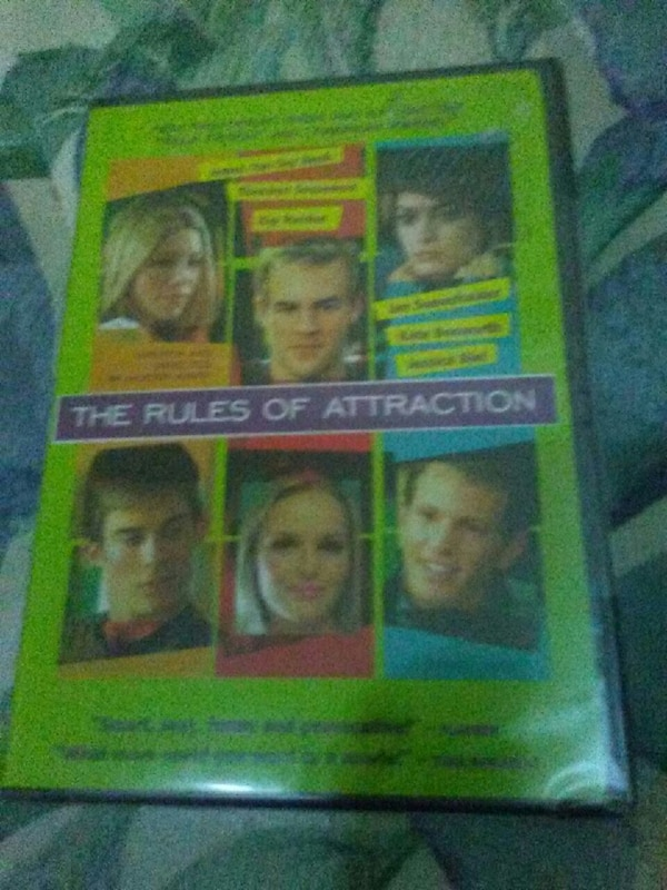 The Rules of Attraction DVD case