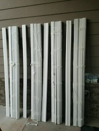 "69.5"" wide x 60""long ,2"" poly blinds... Gainesville, 30504"