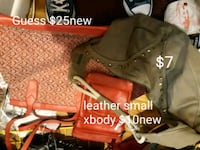 Bags great condition or new prices on pictures