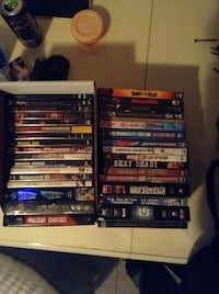 Assorted dvd movies 542 km