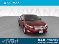 2014 Chevy Chevrolet Volt sedan Sedan 4D RED Brentwood