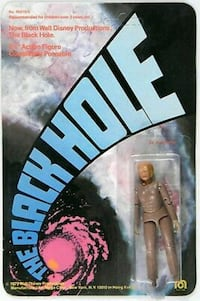 Vintage 70's The Black Hole Movie Collectibles New Brunswick