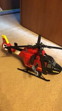 Tonka rescue helicopter