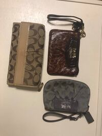 Set of 3 Coach wallets/wristlets Mountain View, 94043