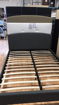 Queen Size bed Brand new Available in Double$225 for Twin$200 firm  Toronto, M9W 6N5