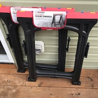 Harbor Freight Folding Sawhorse Hampton, 23669