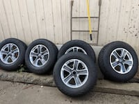 5 BRAND NEW 225/70R18 Tires With Rims FOR JEEP WRANGLER OR RUBICON Langley