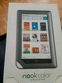 Nook color e-reader Toronto, M9R 3T5