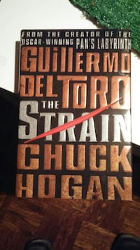 The strain hard cover
